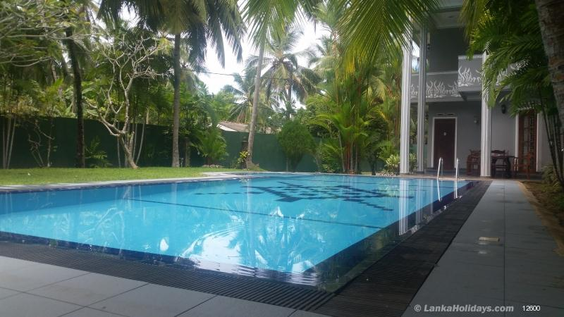 Self Catering Villas In Beruwala Private Villa With Swimming Pool