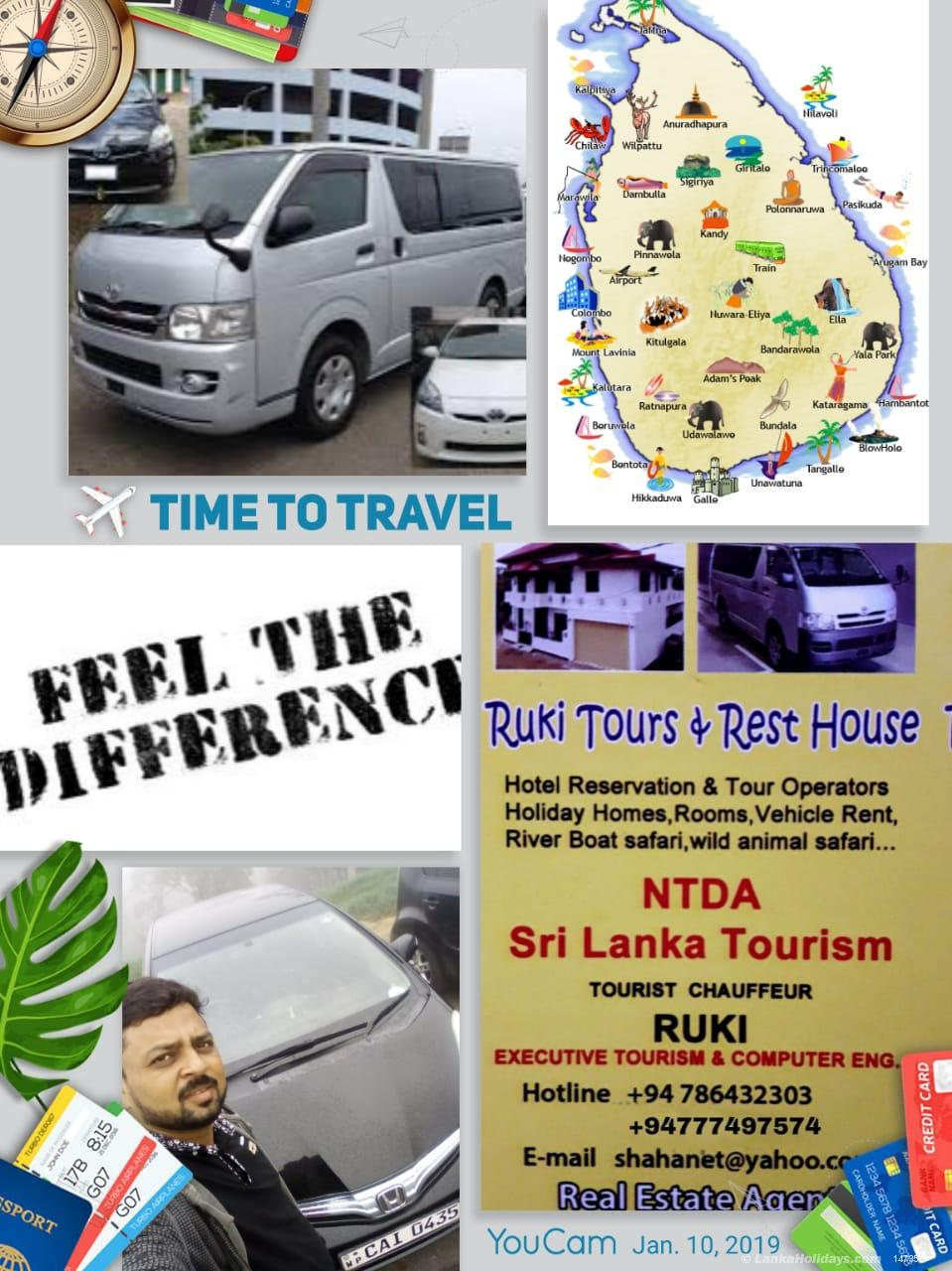 Sri Lanka Van Rentals/Hire - VAN AND CARS A/C SHORT / LONG TERM WITH