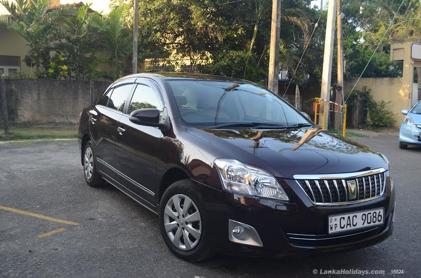 Sri Lanka Car Rentals/Hire - 4 seater to 16 seater Cars And