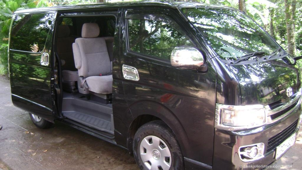 Sri Lanka Car Rentals/Hire - 4 seater to 16 seater Cars And Vans for