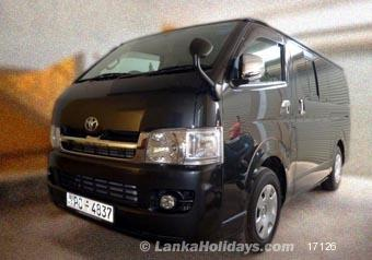 704f2ac99d Sri Lanka Van Rentals Hire - Toyota KDH 200 Super GL for ...
