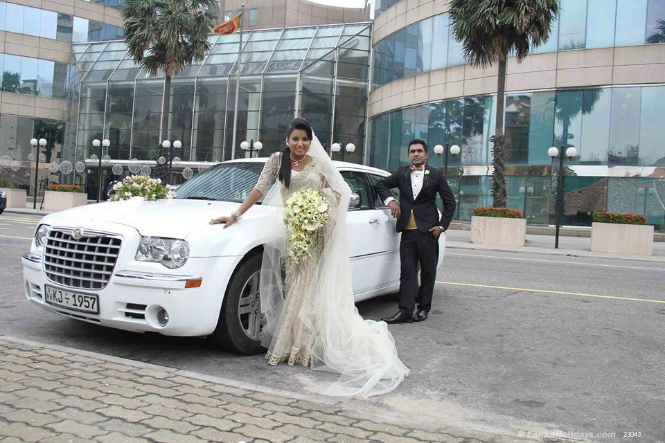 Sri Lanka Car Rentals Hire Chrysler 300c Wedding Car