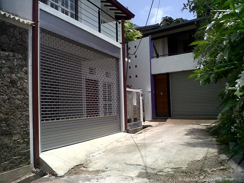 Front Elevation Ground Floor Furnished : Self catering home stays in nugegoda newly built