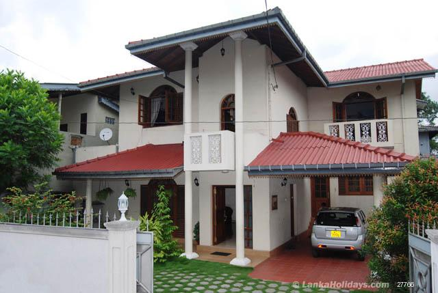 Front Elevation Of House In Sri Lanka : Self catering homes in malabe bedroom storied house