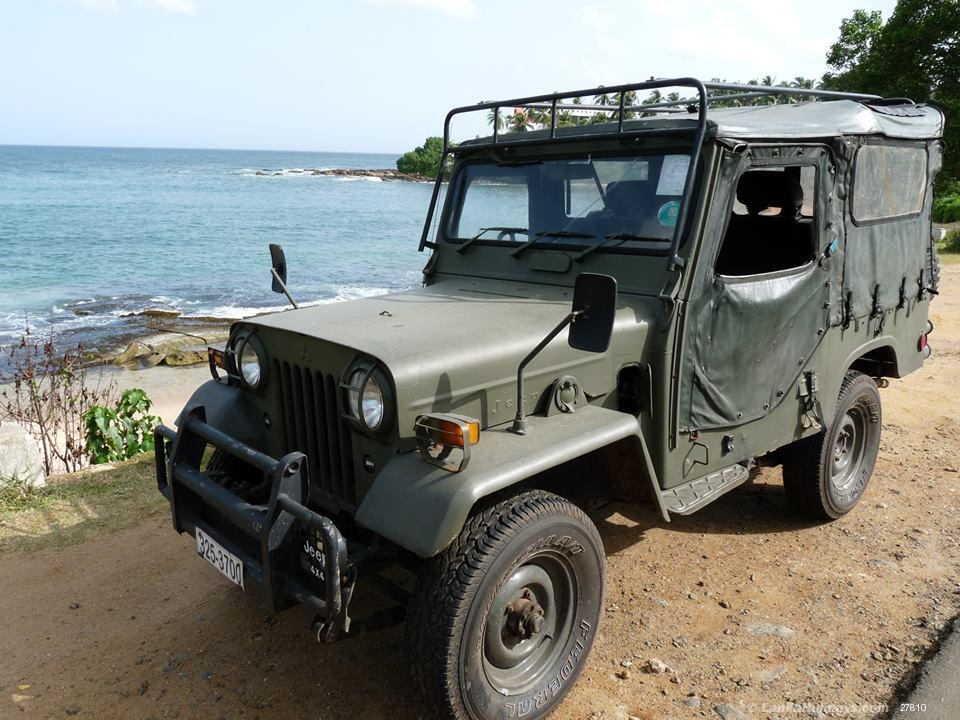 Jeep For Sale Sri Lanka: Convertible Top Jeep 4x4 For