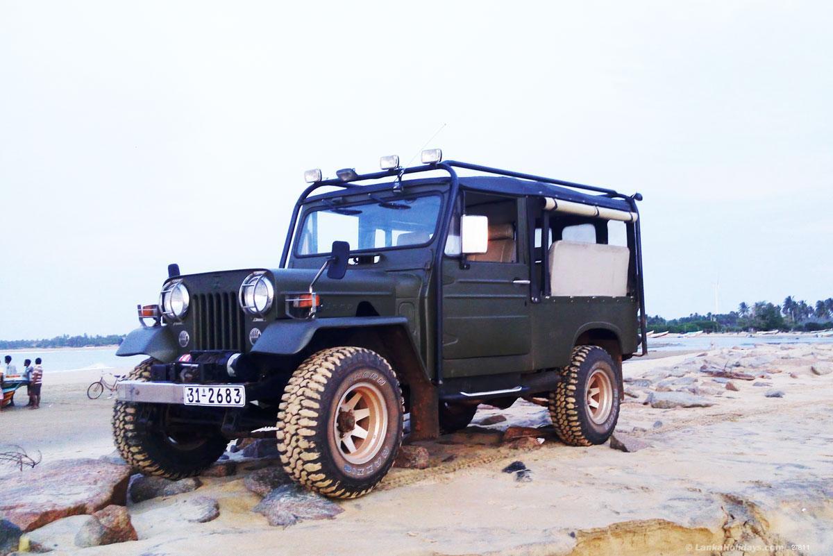 Jeep For Sale Sri Lanka: Mitsubishi 4x4 Military Jeep