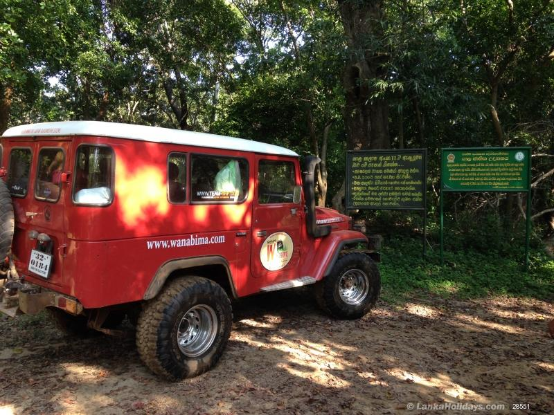 Sri Lanka holiday Jeep hire