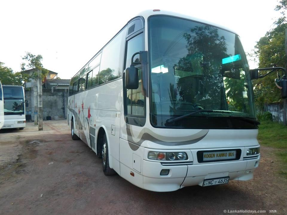 sri lanka bus coach rentals hire super luxury buses for round tours. Black Bedroom Furniture Sets. Home Design Ideas