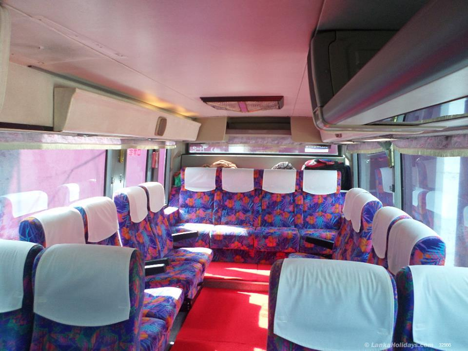 Sri Lanka holiday Bus/Coach hire
