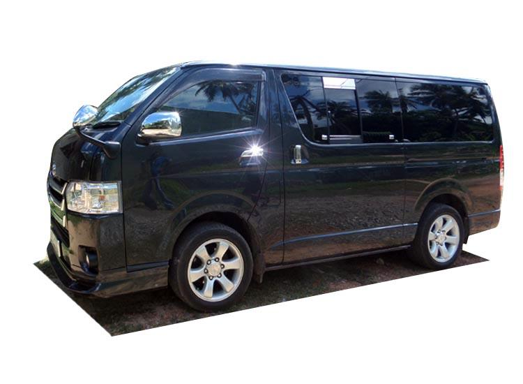 sri lanka van rentals hire newly registered toyota hiace kdh 200 super gl. Black Bedroom Furniture Sets. Home Design Ideas