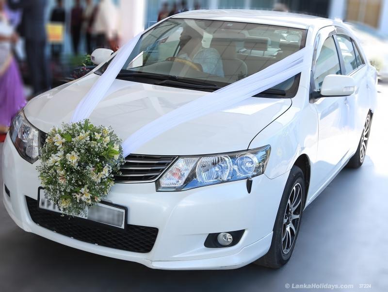 Sri Lanka Car Rentals Hire Wedding Car Hire Yakkala