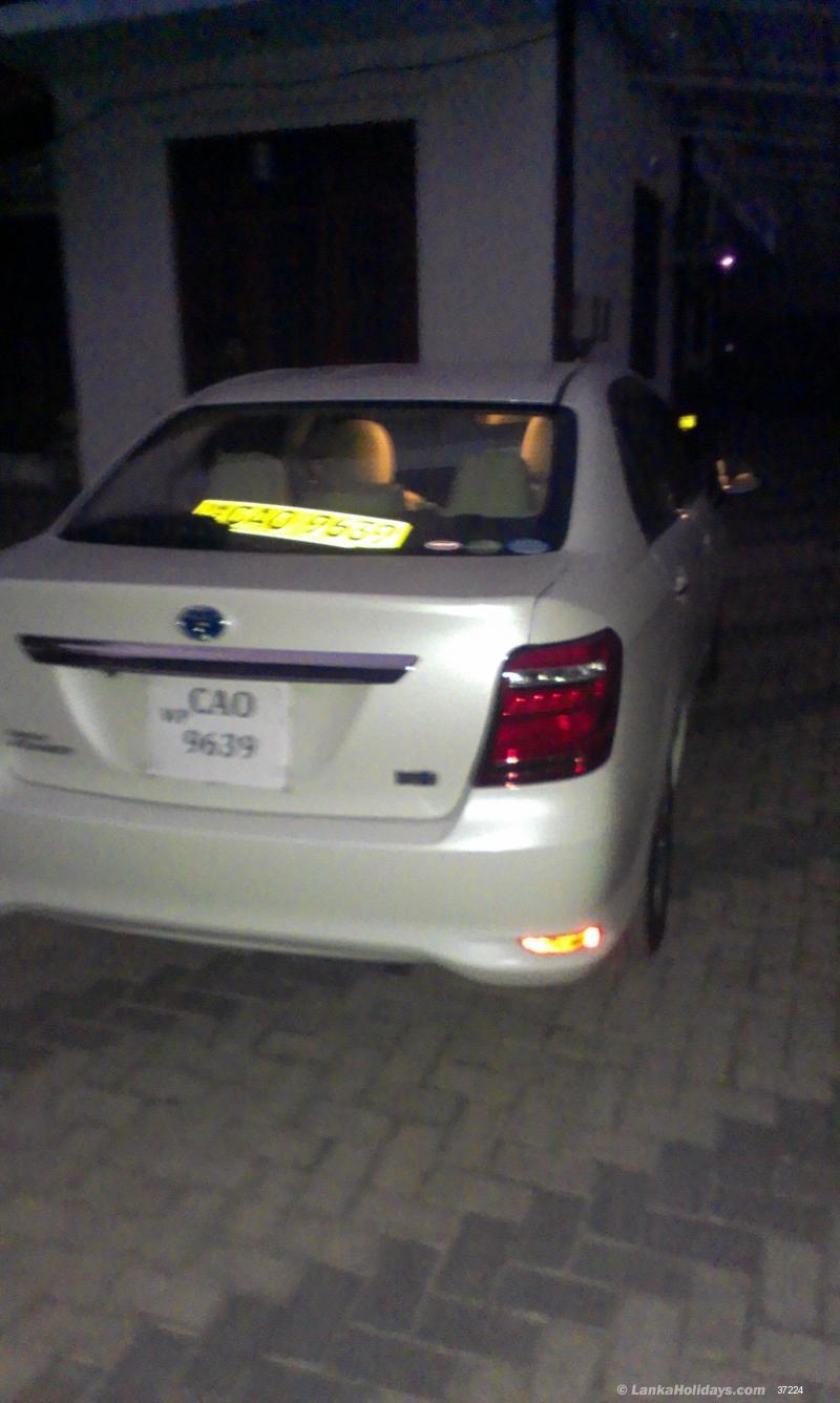 Sri Lanka Car Rentals/Hire - Wedding Car Hire Yakkala Gamapaha Kadawatha - Toyota Axio White