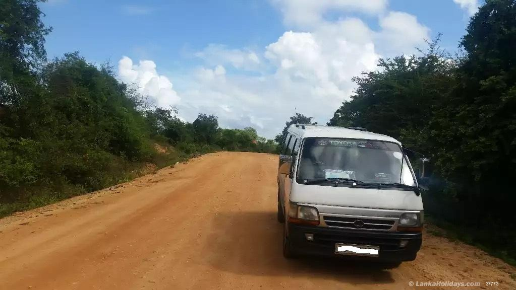 Sri Lanka holiday Van hire