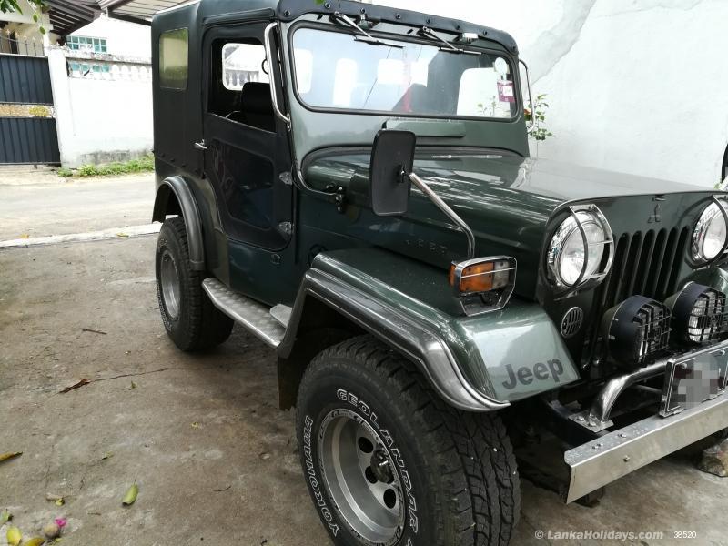 Sri Lanka Jeep Rentals/Hire