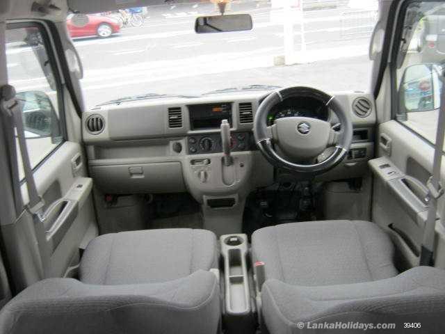 Sri Lanka Van Rentals/Hire - Suzuki Every for Long term Rnet