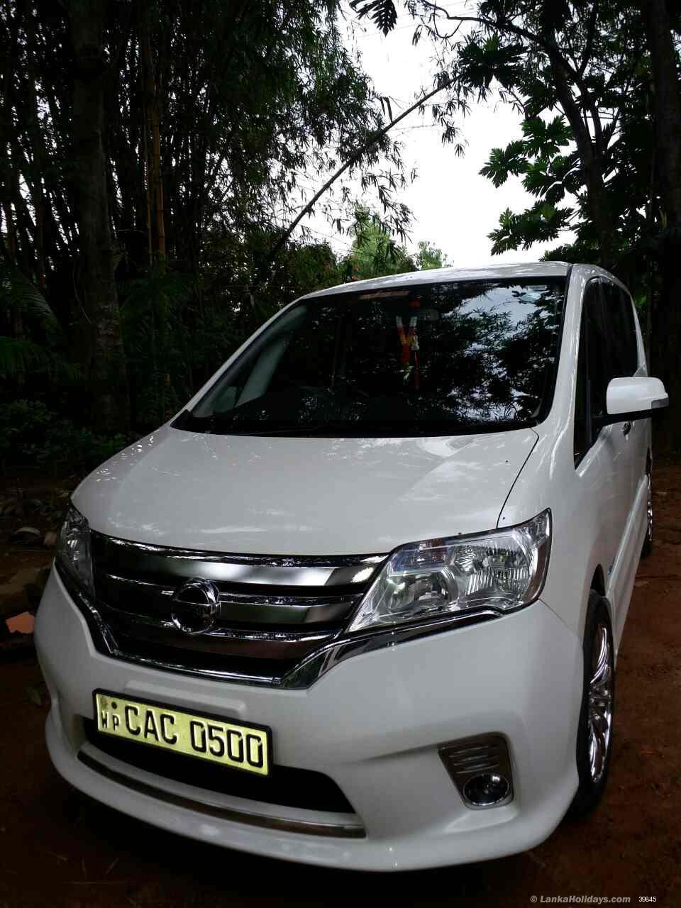 Types Of Jeeps >> Sri Lanka Van Rentals/Hire - Toyota Voxy Luxury SUV for hire