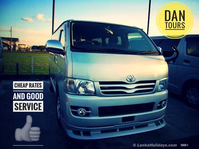 Sri Lanka Van Rentals/Hire - Comfortable kdh van for hire