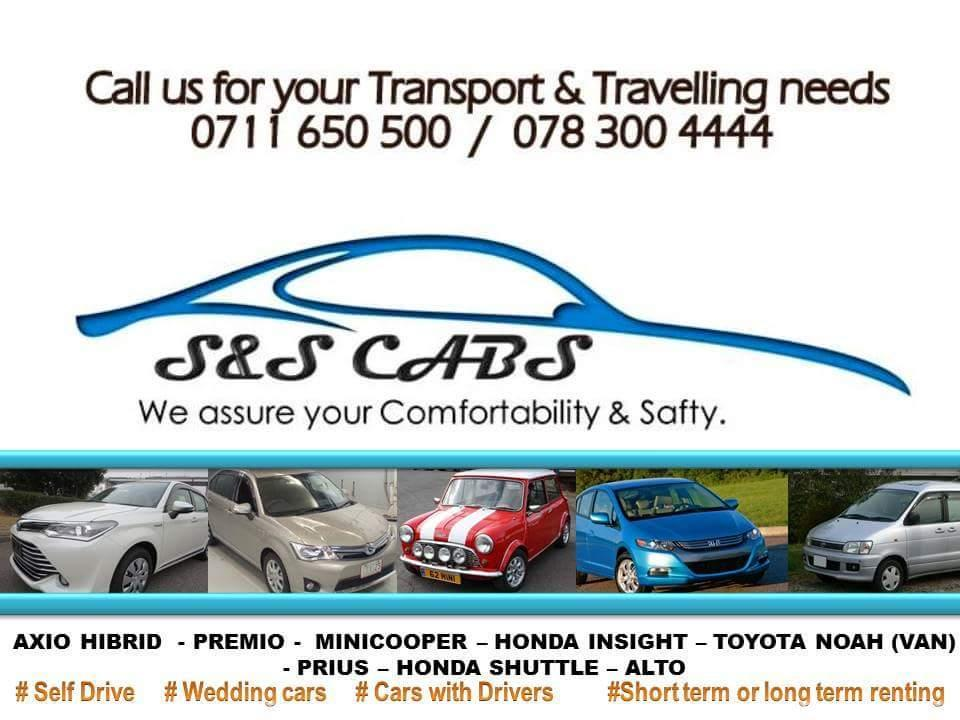 Rent a car in Sri Lanka - Van / Car hire without Driver (Self Drive