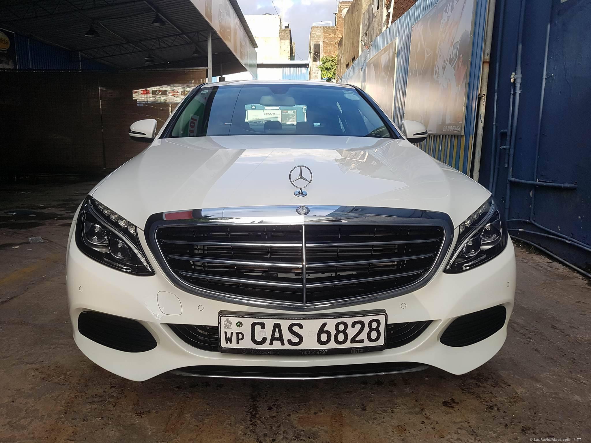 Sri lanka car rentals hire mercedes benz c180 for rent for Mercedes benz for rent