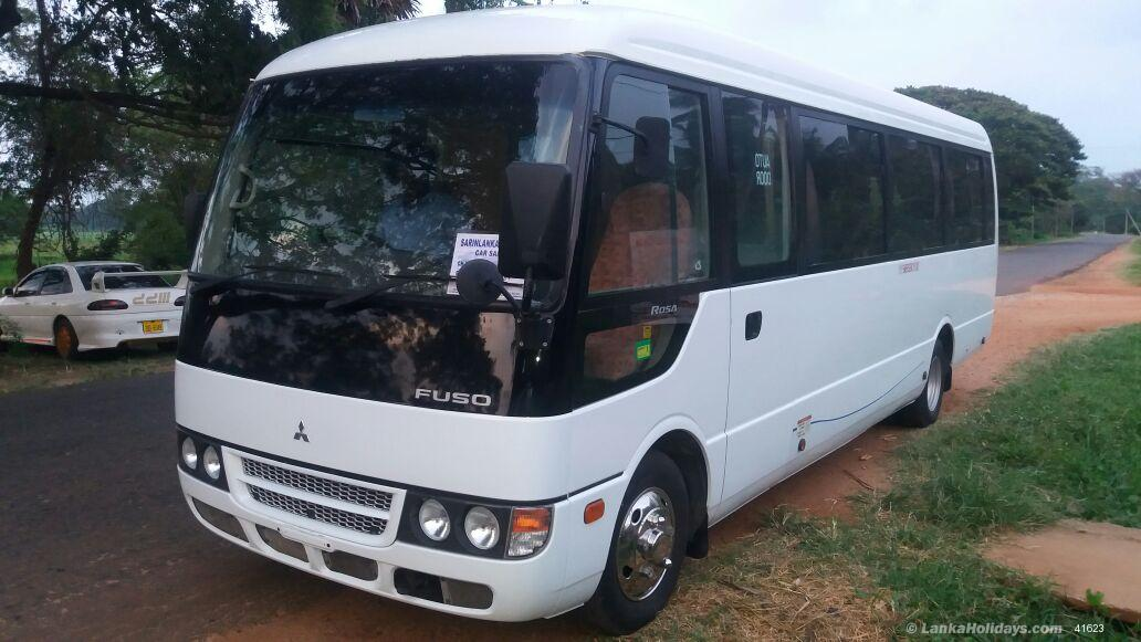 Green Country Mitsubishi >> Sri Lanka Bus Coach Rentals Hire Green Country Tours