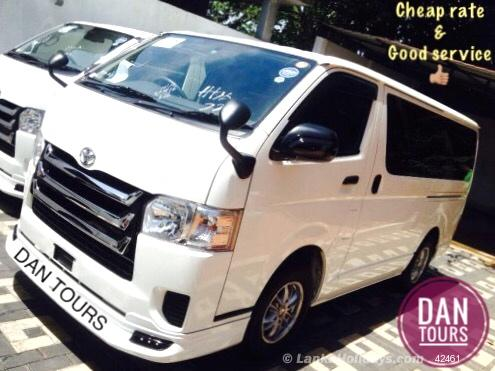 619a6a9408 Sri Lanka Van Rentals Hire - Kdh luxury super gl van for hire