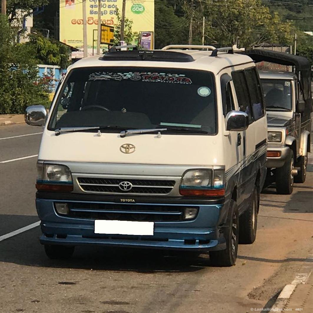 Sri Lanka Van Rentals/Hire - Toyota Dolphin 103 (Dual A/C
