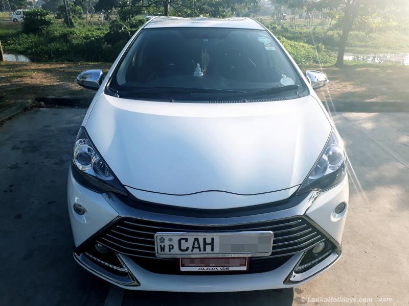 Sri Lanka Car Rentals Hire Rent A Car Rent A Car Toyota Aqua Gs Edition Car For Self Drive