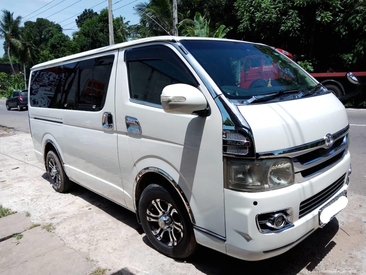 Types Of Jeeps >> Sri Lanka Van Rentals/Hire - Toyota KDH Van For Rent