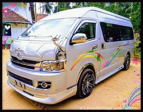 Rent a car in Sri Lanka - Van hire with Driver in Sri Lanka