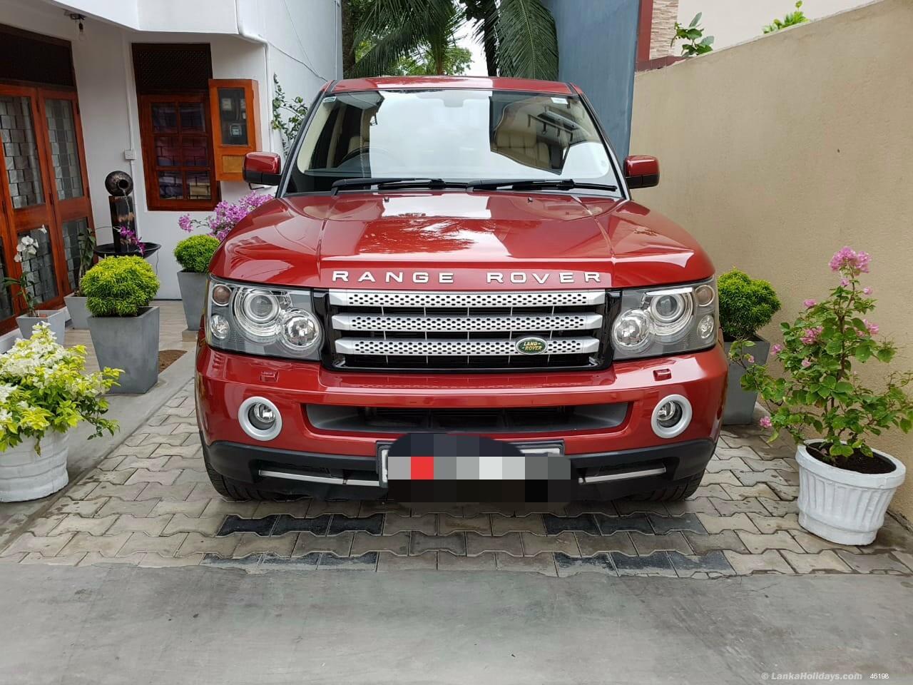 Sri Lanka Jeep Rentals/Hire - Range Rover Sport for Rent